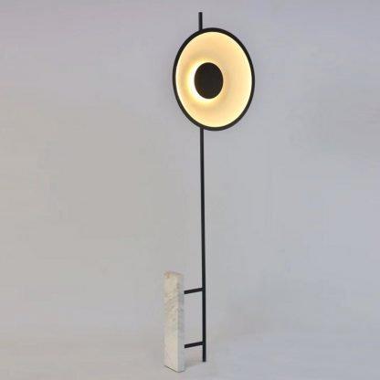 Geometric Circle Floor Lamp Minimalist lights