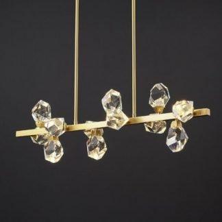 Herlebeorht Luxury Dancing Crystal Chandelier Light