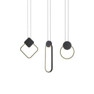 Herman Contemporary Geometric Design Pendant Light