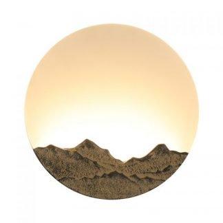 Mererid Modern Creative Mountain Wall Lamp