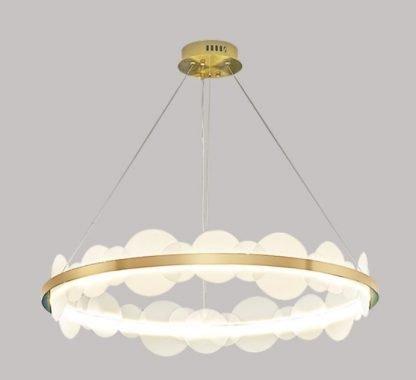 One Ring Chandelier Light Family room lights