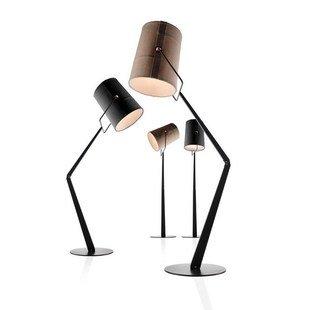 Velma Minimalist Swing Arm Floor Lamp