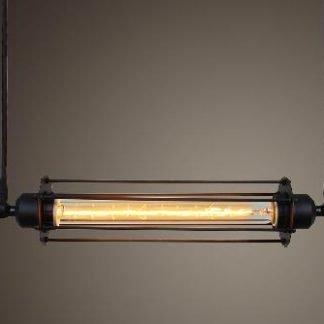 Aethelhere Retro Industrial Metal Pendant Light