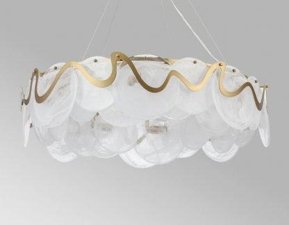Art Deco Chandelier Light Reading Area Lamp