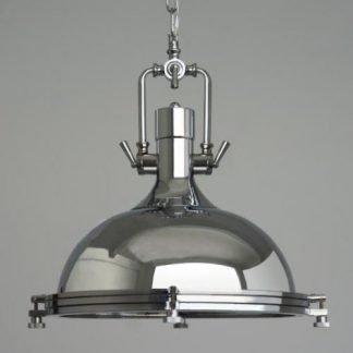 Coralyn Industrial Vintage Metal Pendant Light