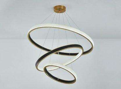 Elegant Circle Chandelier Light Reading lights