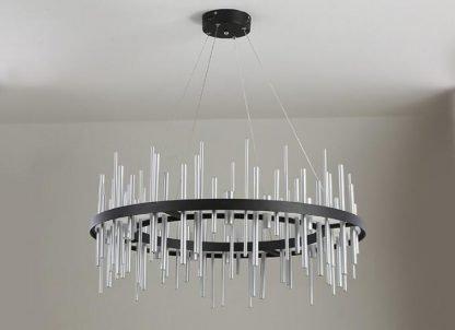 Geometric Integrated Chandelier Light Bedroom lights