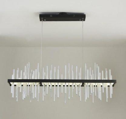 Geometric Integrated Chandelier Light Corridor lights