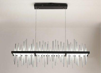 Geometric Integrated Chandelier Light Living Room lights