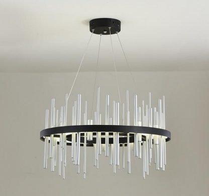 Geometric Integrated Chandelier Light Lobby lights