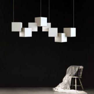 Gregson Modern Pixel Shaped Pendant Light