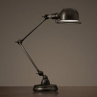 Maeryn Vintage Swing Arm Table Lamp