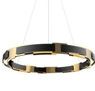 Mercia Luxury Decorated Ring Chandelier Light
