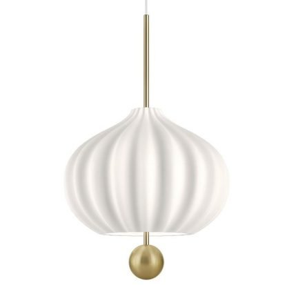 Minimalist White Pendant Light Minimalist lights