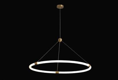 Multi Ring Chandelier Light Reading lights