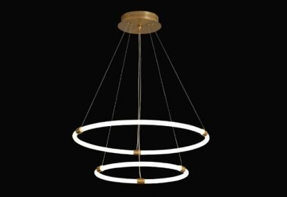 Multi Ring Chandelier Light Workplace lights