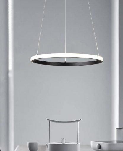 One Ring Pendant Light Dining Room lights
