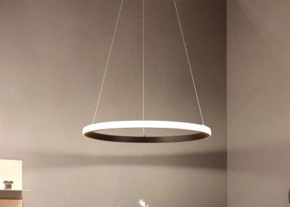One Ring Pendant Light Family room lights