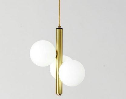 Painted Glass Pendant Light Living Room lights