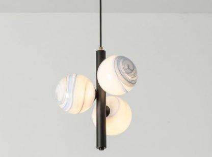 Painted Glass Pendant Light Minimalist lights
