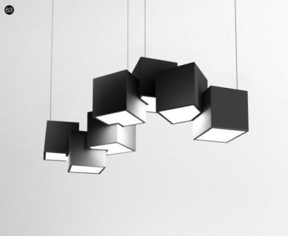 Pixel Shaped Pendant Light Office lights