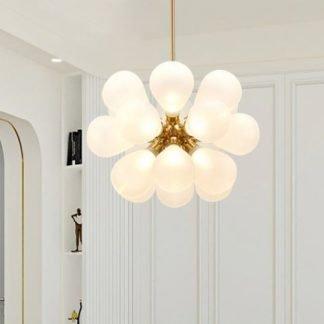 Eibhear Modern Glass Bouquet Pendant Light
